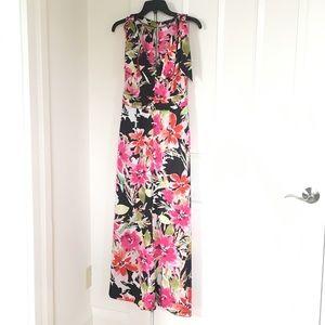 Zara Floral Jumpsuit Size S